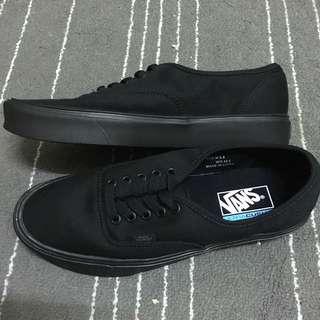 Vans authentic lite+ 輕量化 全黑 帆布鞋 滑板鞋 Old skool era sk8-hi