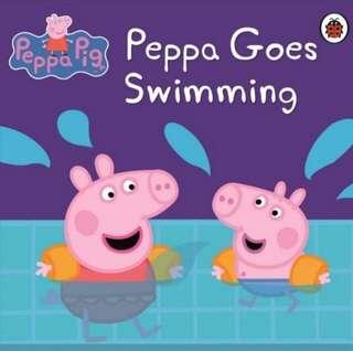 Peppa Pig Books peppa goes swimming