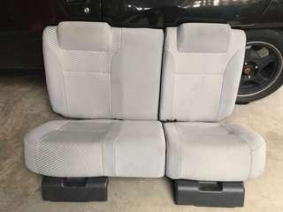 Seat belakang sahaja utk MYVI 1.3 ezi