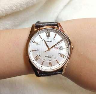 ⭐️新推⭐️ ⛄️⛄️🎁 全新行貨Casio 文青款皮錶---$420一隻