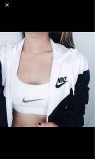 Nike WindBreaker Black And White