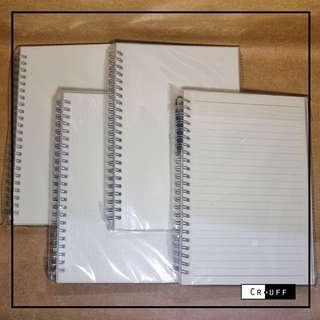 Muji inspired notebook (A5)