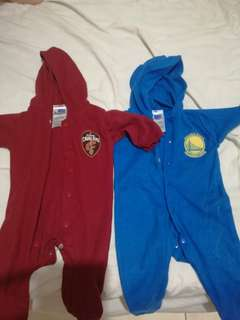 Nba onesis for New born (cavaliers and warriors)