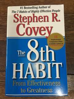 The 8th Habit (Stephen Covey)