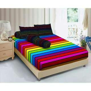 Kintakun Seprei D'Luxe Rainbow