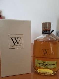 白州WSO-006 Whisky Shop W限定版