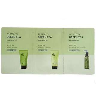 [LIMITED STOCK SALE] InnisFree Green Tea Cleansing Kit