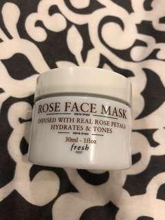 Fresh - rose mask