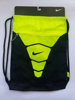 Nike String Bag - Neon Green & Black