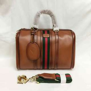 Gucci doctor bag high end quality with serial Free shipping
