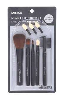 Brand New Auth Miniso Skin Charm Makeup Brush Set