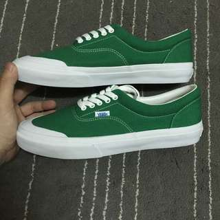 Vans era v95 half moon 綠色 帆布鞋 滑板鞋 Old skool authentic
