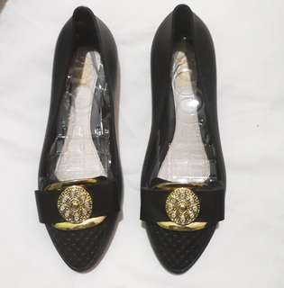 BARU Flat Shoes Jelly Black