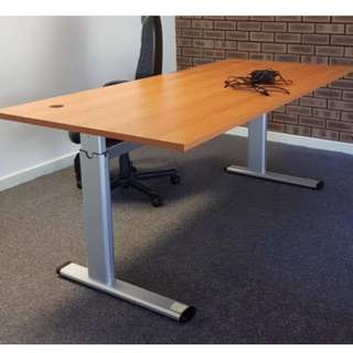 Electric Adjustable Height Sit Stand Workstation / Desk /Table
