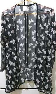 🚚 蝴蝶結罩衫