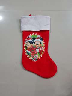 Mickey Mouse Christmas Decoration Sock