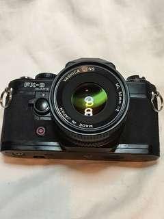 YASHICA FX-D QUARTZ & 50 mm f2