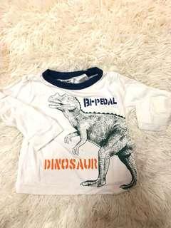 Baby Dinosaur Long Sleeve Top