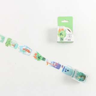 Animals In Cups Washi Tape