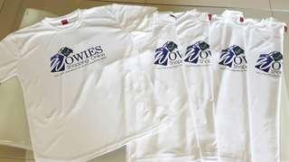Personalized White Shirts