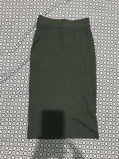 Highwaist skirt/rok span