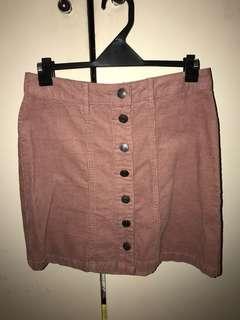 STRADIVARIUS Mauvy Pink skirt