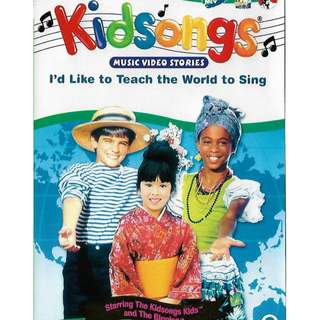Kidsongs Vol.2 I Like To Teach The World To Sing DVD