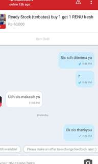 Trusted Seller no tipu2 👍
