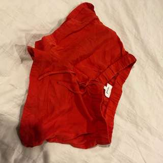 red SEED shorts