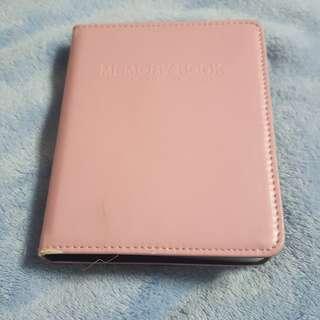 Light Pink Polaroid Instax mini Album