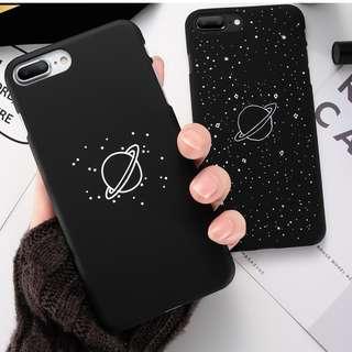 Iphone 5/5S/SE Starry Planet Black Matte Phone Case