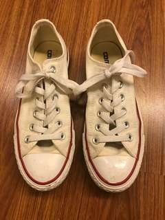 White Converse All Star