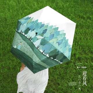 🚚 超漂亮鮮豔防曬太陽傘⛱️