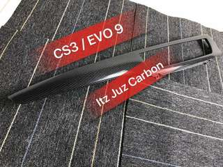 CS3 / EVO 9 Carbon side passenger panel