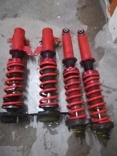 adjustble car dpn blkg