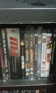 Blu-rays ($10-$25)