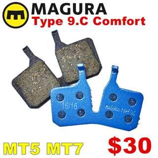 Magura 9C Disc Brake Pads for MT5/MT7 --------  (Magura MT2 MT4 MT5 MT5e MT6 MT7 MT8 Trail XTR M9020 XT M8020 M8000 M785 SLX M7000 M675 M315 ) DYU