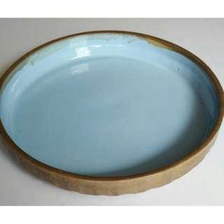 Antique Clay Dish