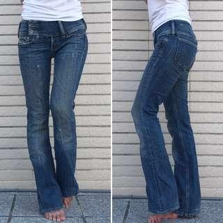 義大利製 萬元牛仔褲Diesel W25 修長顯瘦牛仔褲