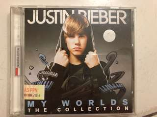 "Justin bieber ""My Worlds"" album"