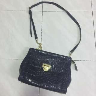 Anne Klein Vintage Leather Bag (100% Authentic)