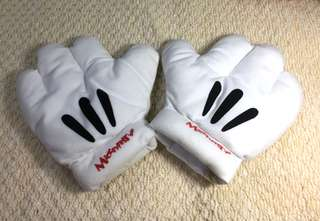 Mickey Mouse Plush Gloves for Kids