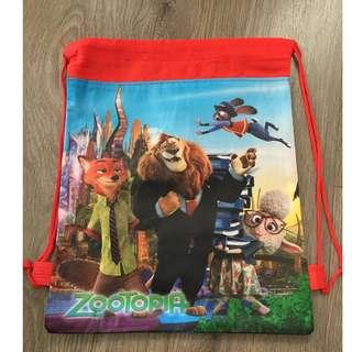 Cartoon Drawstring Bags - Goodie Bags (Zootopia)
