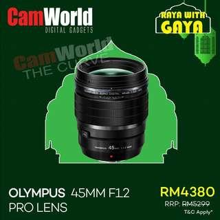 OLYMPUS 45mm f1.2 pro