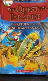 Geronimo Stilton - The Quest for Paradise. The return to the kingdom of fantasy