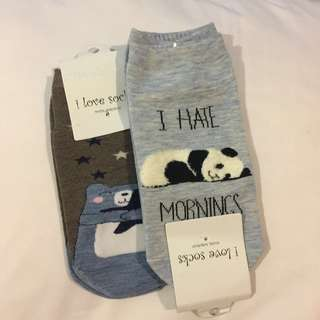 cute foot socks bundle