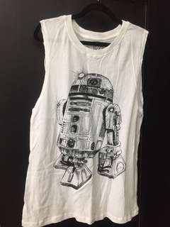 sleeveless top star wars #mausupreme