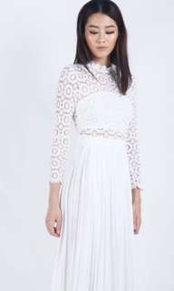 Brand new in bag the dancing jewels white margaery dress