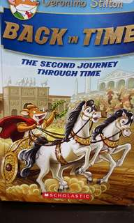 Geronimo Stilton - Back in Time. The second journey through time