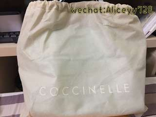 Coccinelle shoulders and handle bag